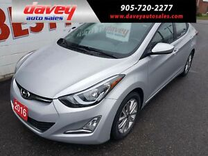 2016 Hyundai Elantra Sport Appearance SUNROOF, HEATED SEATS,...