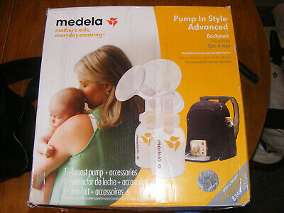 Medela Pump In Style Advanced Double Breast Pump With Backpack
