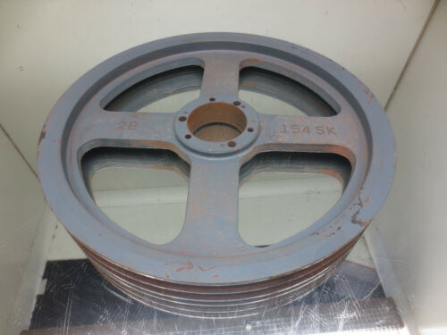 PULLY, 2B 154 SK, 2 GROOVE PULLY, OD= 15-3/4""
