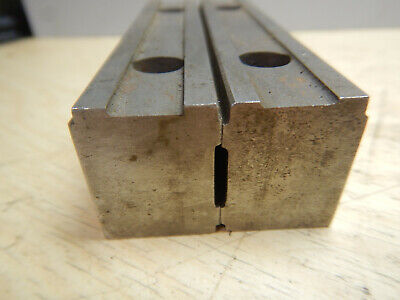 Set Of Machinist Vise Jaw Or Parallels Jig Fixture Tooling