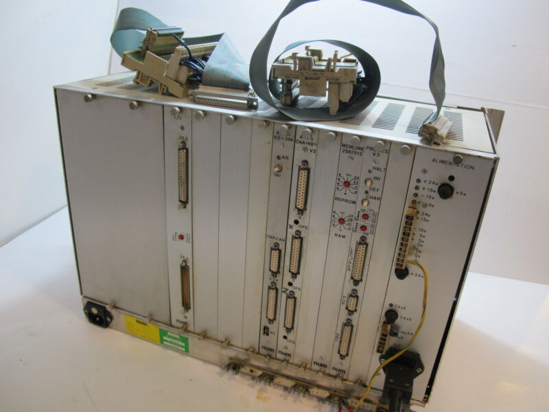 NUM 750R CNC system, NUM 750R CNC PLC system