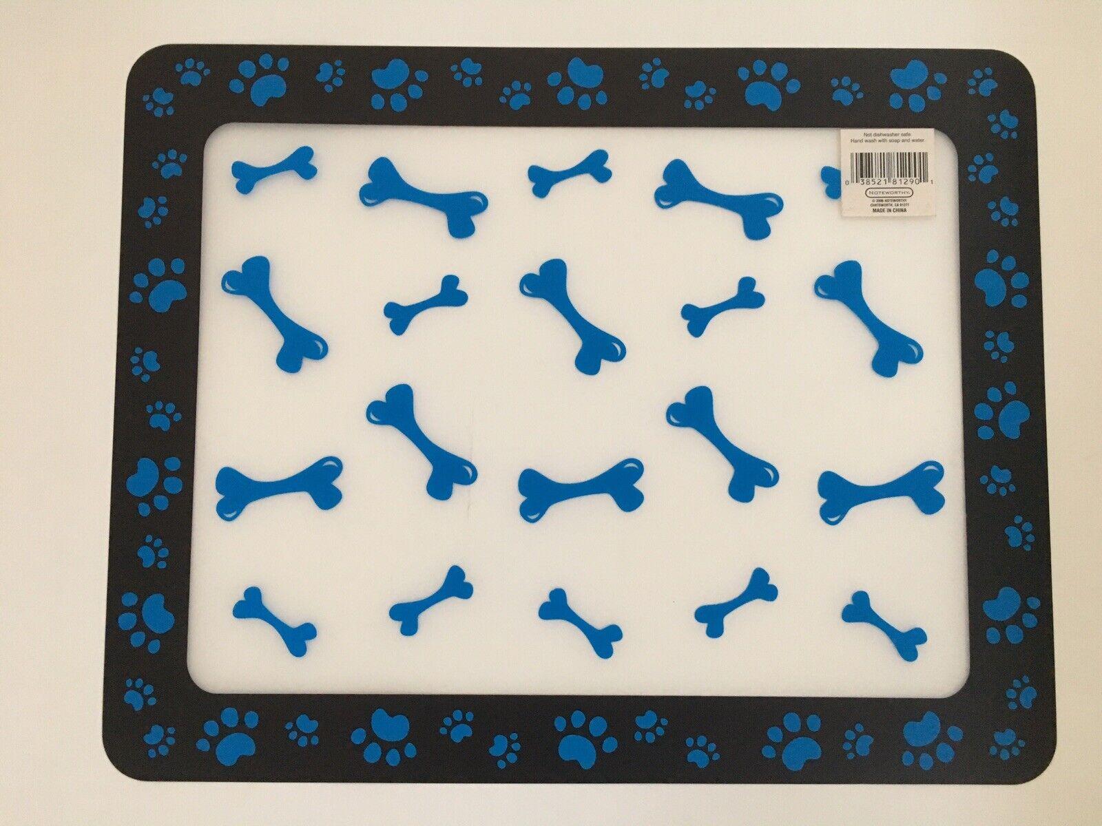 Pet Floor Mat Plastic Dog Food Mat 1 pc Dog Feeding Mats