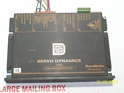 Servo Dynamics 1525-bl Dynadrive Servo Amplifier For Brushless Motors