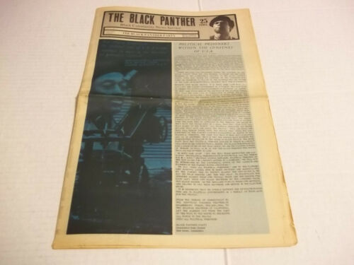 Black Panther Newspaper  July 25, 1970   VG+