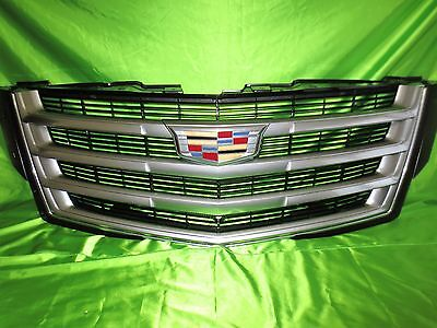 ⭐ ⭐ 15 19 Cadillac Escalade Grille New 23405570 (Chrome / Black Mesh) - Cadillac Escalade Chrome Grille