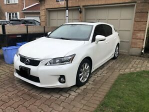 2013 Lexus CT200h Hybrid Tech Package one owner