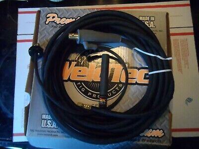 Weldtec Wt-24w-25 Tig Torch Kit 25 Vinyl No Torch Head Brand New