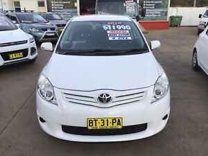 2010 TOYOTA COROLLA ASCENT 5dr HATCH only 128234 klms Leumeah Campbelltown Area Preview