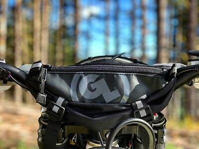 Giant Loop Zigzag Handlebar Bag Motorcycle Off Road Dual Sport Adventure Touring Dual Sport Motorcycle Luggage