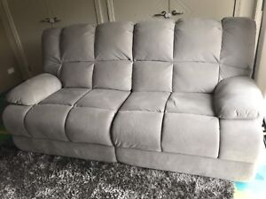 Recliner Lounge 3 Seater Super Amart