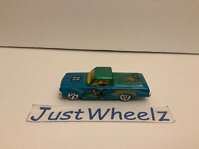 "Hot Wheels 2012 Pop Culture Series ""Aquaman"" '65 Ford Ranchero w/ Real Riders"