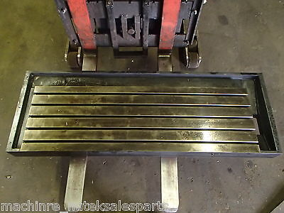 59.5 X 20.75 X 6 Steel Welding T-slotted Table Cast Iron Layout Plate 5 Slots