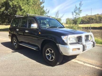2000 Toyota LandCruiser GXL Automatic on Duel Fuel Mitchell Gungahlin Area Preview