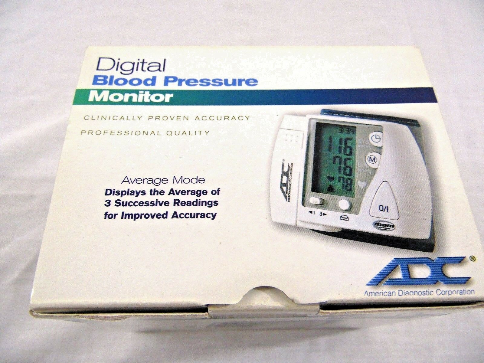 ADC ADVANTAGE Wrist Blood Pressure Monitor