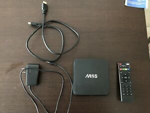 Barely used M8S Android TV Box