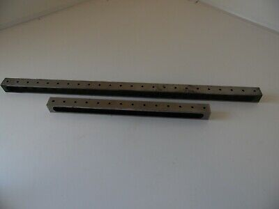 Beam Parallels Machinist Tooling Jig Fixture  1x1x14 And 24 Inch