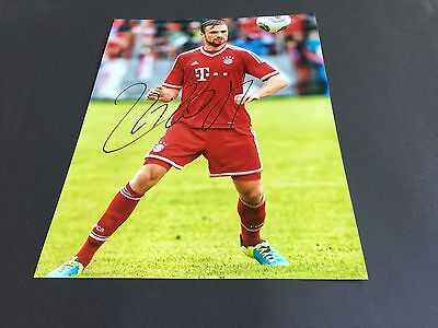 JAN KIRCHHOFF BAYERN MÜNCHEN signed Photo 20x27 In-Person