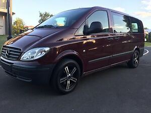 09 9Seater T/Diesel Vito Van 7M Rego and RWC Eight Mile Plains Brisbane South West Preview