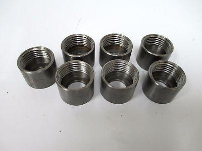 Ford Cap Nut W Thread E5nnb104ac E5nnb109ac Lot Of 7 Tractor Backhoe Holland