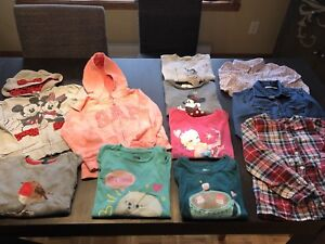 Lot vêtements fille 5 ans