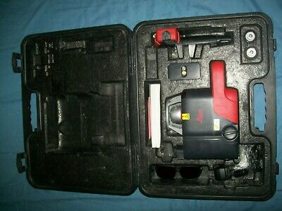 Leica Roteo 35 Rotary Laser Level Complete Kit Complete Excellent