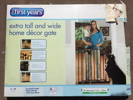 First Years Extra Tall And Wide Baby Gate