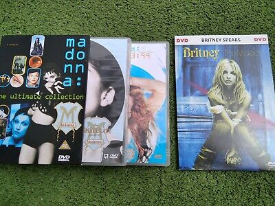 Madonna The Ultimate Collection DVD (Immaculate & 93:99) + Britney The Videos segunda mano  Cala del Moral
