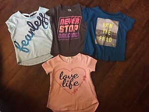 Size 5T athletic shirts