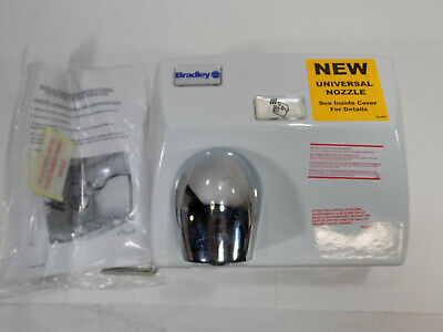 New Bradley Automatic Hand Dryer Sensor Activated Surface Mount 115v Cast Iron