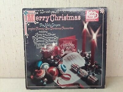 We Wish You A Merry Christmas The Holly Singers Present 21 Christmas Songs LP... ()