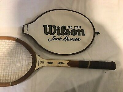 Wilson Pro Staff Jack Kramer Tennis Racquet Wood With