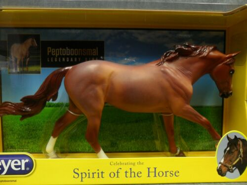 Breyer NEW * Peptoboonsmal * 1829 Roan Dundee Traditional Model Horse
