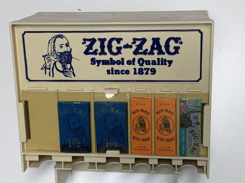 Vintage Zig Zag Cigarette Rolling Paper Tobacco Graphics Rare Smoking Gas Oil