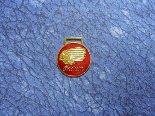 Indian Chief Motorcycle Logo Watch Fob