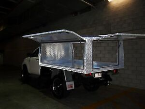 ALUMINIUM UTE CANOPY- SINGLE CAB Coorparoo Brisbane South East Preview
