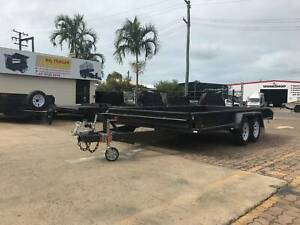 14x6'6 CAR TRAILER - BOX CAR CARRIER | FULL CHECKERPLATE | With Sides Mount Isa Mt Isa City Preview