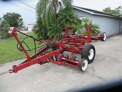 Toro Reel Lawn Mower 5 Gang Hydraulic Transport - Pull Frame Reelmaster 7 Blade
