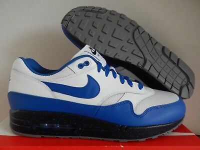b6feaf5969d NIKE AIR MAX 1 ID OG WHITE-BLUE-BLACK SZ 13 MESH TOE!  943756-972