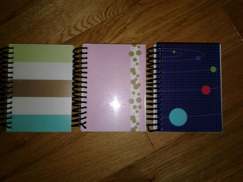 """SPIRAL FAT NOTEBOOK   Lined   5.5"""" x 4""""   160 sheets   Pack of 3"""