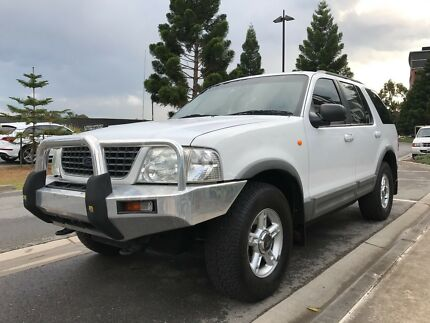 2002 Ford Explorer Wagon 4x4 7 Seater 6 M Rego $4400