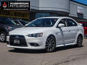 2015 Mitsubishi Lancer GTS LEATHER SEATS SUNROOF A/C POWER GROUP