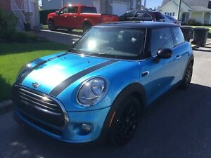 Mini Cooper transfer bail