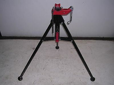 New Pipe Threading Tristand Reed Rothenberger Collins 18 2-12 Chain Vise 33lb