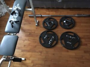 Set of bench press for sale