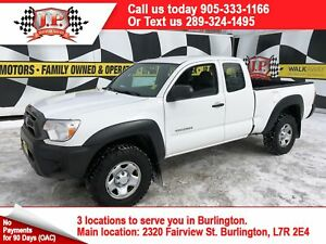 2013 Toyota Tacoma Extended Cab, Automatic, 4x4, 104, 000km