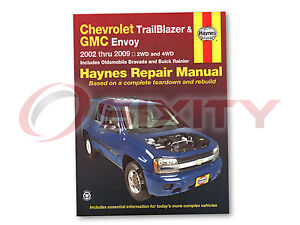 Haynes Chevrolet TrailBlazer GMC Envoy Buick Rainer 02-09 Repair Manual wf