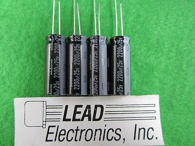 30 Pcs of Panasonic FC Series 50V 2.2UF Japan Made Low impedance Capacitor 5x11