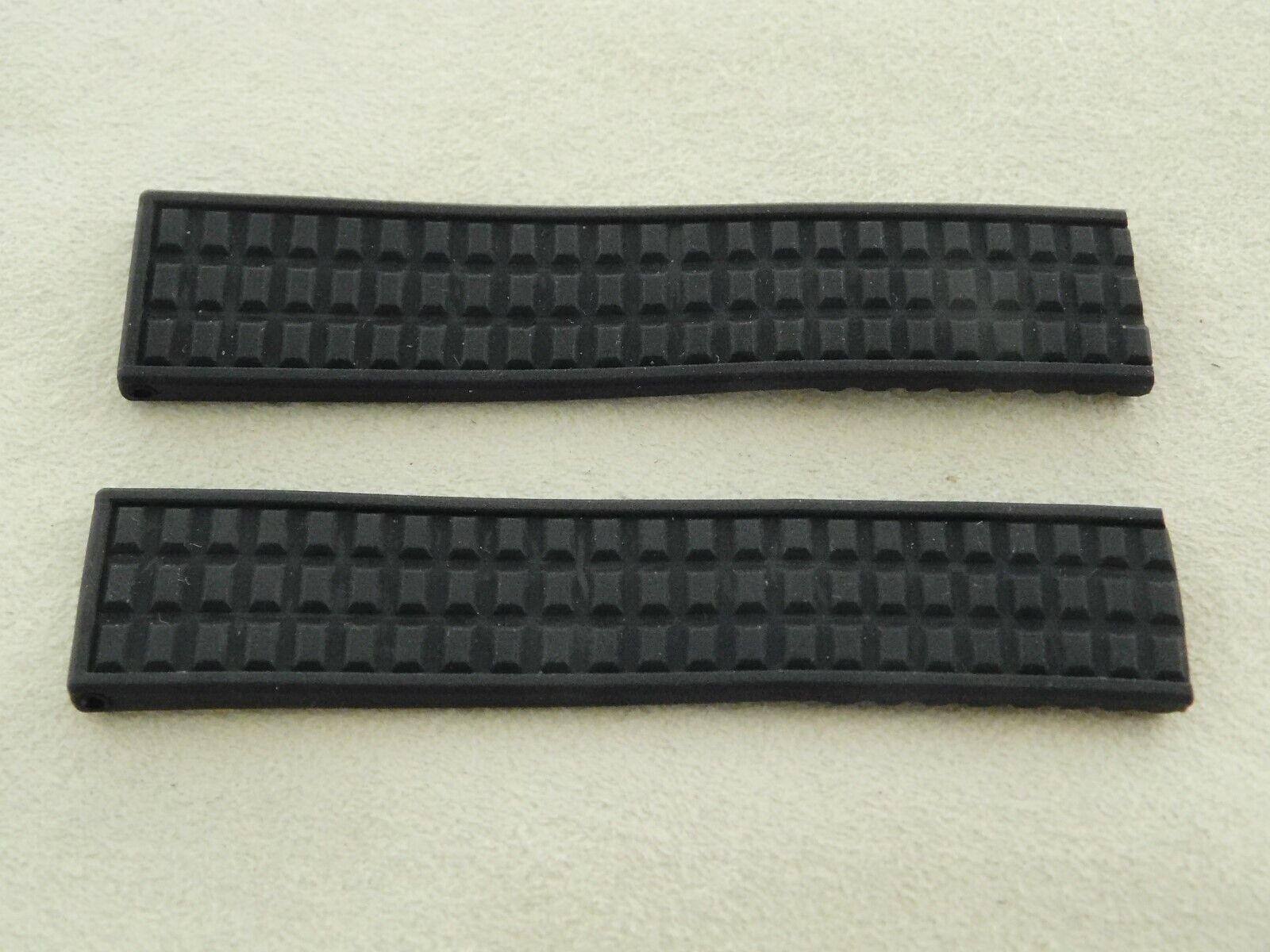 Neu ! Original PATEK PHILIPPE Kautschuk Armband 16 - 14 mm für Aquanaut schwarz