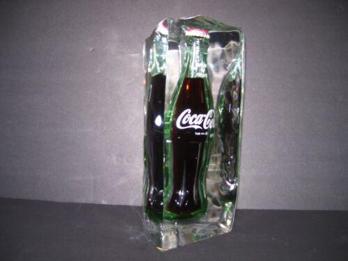 Coca-Cola Lucite Encased Soda Display Bottle (Advertising Glass)