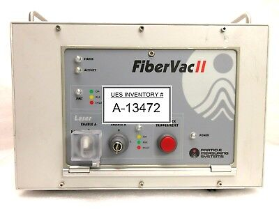 Particle Measuring Systems Fibervac Ii Laser Control Unit Rev. A Used Working